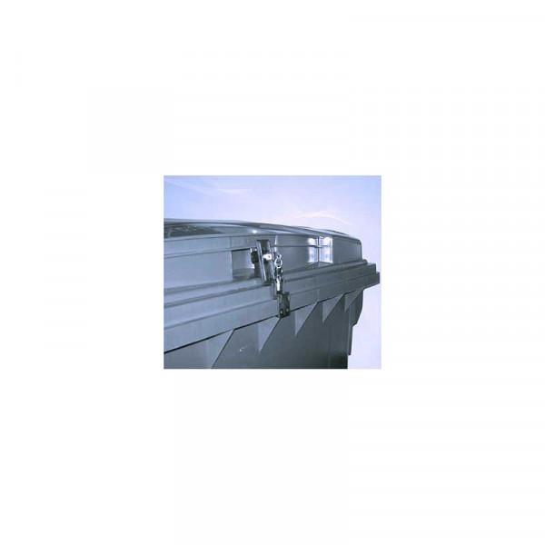 Müllcontainerverschluss 660/770/1100 Liter Sulo Flachdeckel